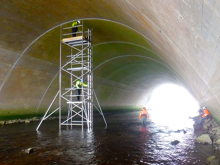 HTA working on and near water